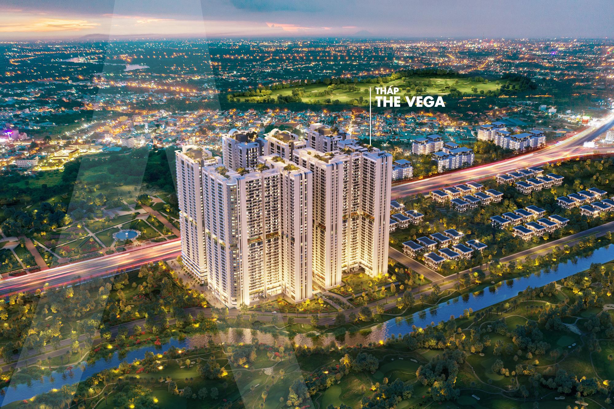 Mặt bằng dự án Astral City tháp The Vega