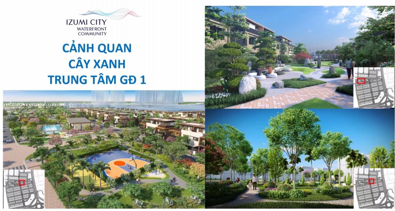 Tiện ích dự án Izumi City Đồng Nai